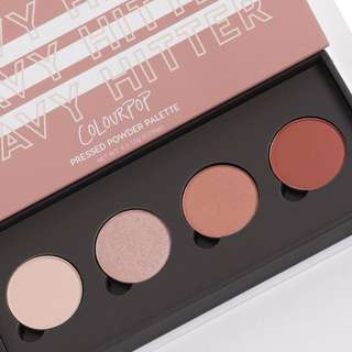 Colourpop Heavy Hitter Eyeshadow Palette