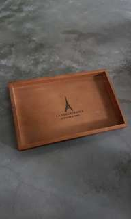 Wooden tray 1 pc