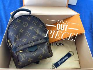 Palm Spring Backpack Mini Louis Vuitton