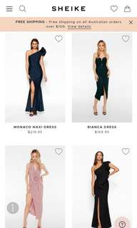 Sheike Australian brand dress