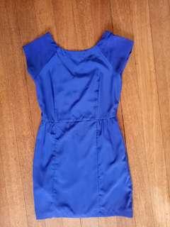 Mango Blue Dress