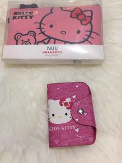 HELLO KITTY LOVER ! Sillicone Pouch & Card Case