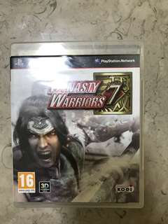 🚚 PS 3 Dynasty Warriors 7