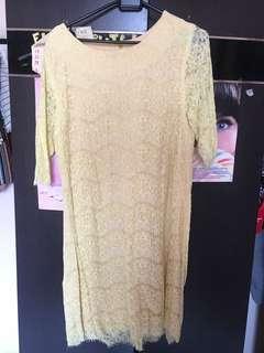 Lace yellow