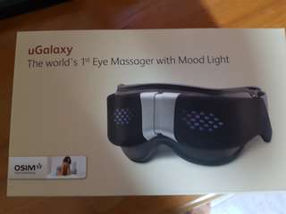 BNIB Osim uGalaxy eye massager