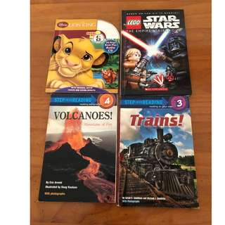 Set of 4 books for sale