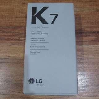 LG K7 BROWN