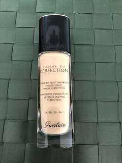 Guerlain timeproof foundation ultimate lasting