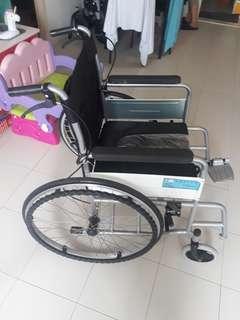 Comode wheelchair