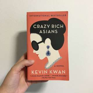 Free Mailing! Crazy Rich Asians Paperback