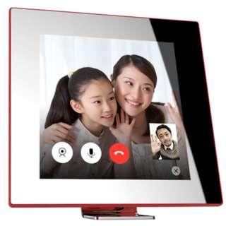 那刻(NK)互動智能鏡子| 可視電話 智能家居設備 消息接收器 定時鬧鐘