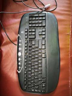 Logitech keyboard Ps2 port