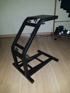 racing stand for racing wheels