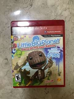 🚚 PS 3 Little Big Planet Game of the year edition
