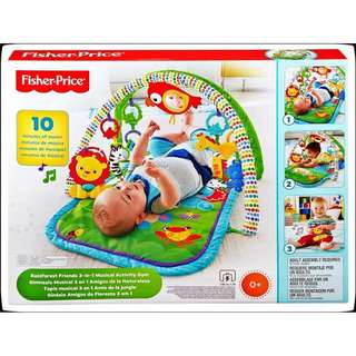 Fisher-Price Rainforest 3-in-1 Musical Activity Gym
