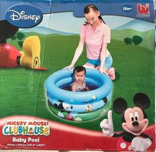 🚚 Inflatable baby pool