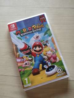 Pre-loved Nintendo Switch Mario + Rabbids Kingdom Battle