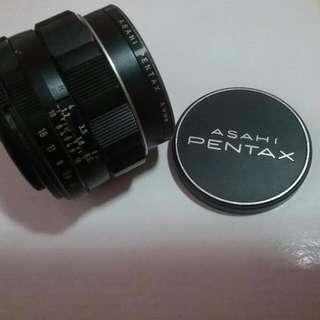 Asahi Pentax Spotmatic Camera Lens Authentic
