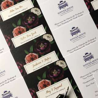 Wedding Invitation Cards Name Addressing