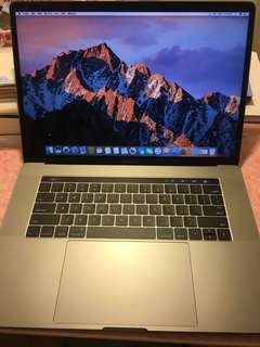 MacBook Pro 15 吋 2016 Intel i7 2.7GHz 16GB RAM 512GB 極新 太空灰 Grey