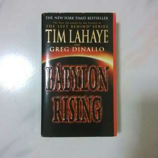 BABYLON RISING. THE NEW YORK TIMES BESTSELLER