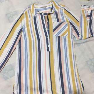 Marks&Spencer Striped Blouse