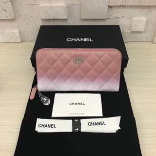 面交  Chanel 香奈兒長款銀包
