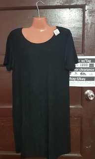 Black Glittering Long Blouse (L)