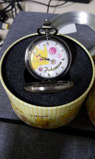 Pikachu Pocket Watch