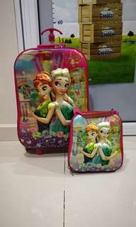 Frozen Trolley Bag with Lunch Bag