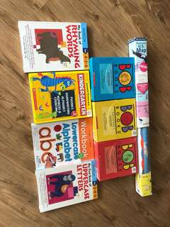 Batch of Kids' educational books n learning guide