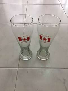 Foot-Long beer glasses - original Canadian