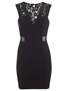 Miss Selfridge black dress original