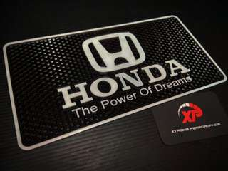 Dashboard anti slip rubber holder HONDA logo
