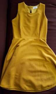 Chill Mustard Dress