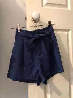 City beach paper bag shorts size 6