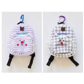 宇宙人限定後背包mini 小零錢包/吊飾/娃娃