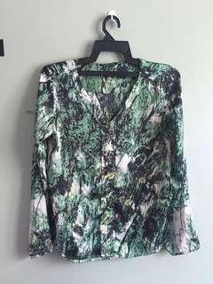 PADINI Green blouse / top