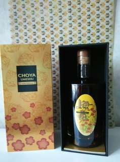 日本Choya 金箔梅酒