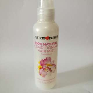 Human❤️Nature Conditioning Hair Mist 100mL (90% full)