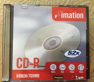 🚚 Imation Blank CD x 8 pieces