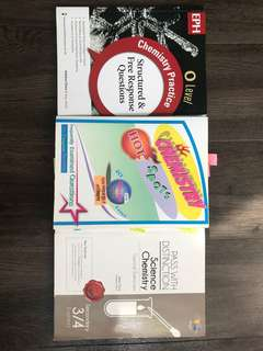 o'level chemistry assessment books