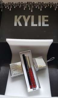 BNIB AUTHENTIC Kylie Cosmetics Holiday Edition Matte Liquid Lipstick & Lip Liner (Merry)