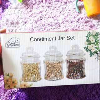 Balang @ condiment Jar Set