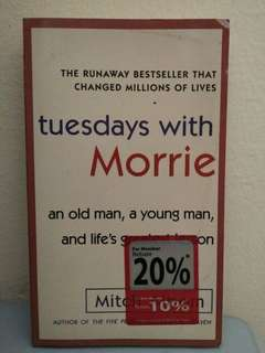 Tuesday with Morrie (Mitch Albom)