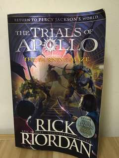 The trials of Apollo - the burning maze by rick rioxan