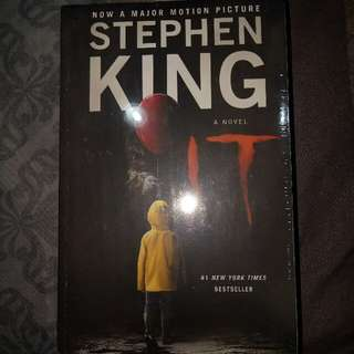 It by Stephen King (brand new/sealed)