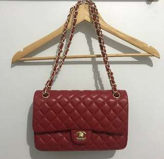 Chanel Lambskin Leather Flap Bag