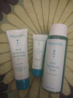 Paket acne treatment murah wardah