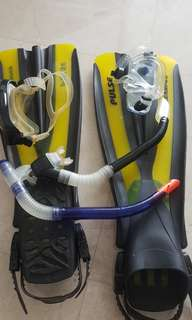 Snorkeling kit, all you need!!
